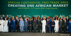 group photo from AfCFTA