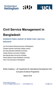 Phase 1 Bangladesh report cover