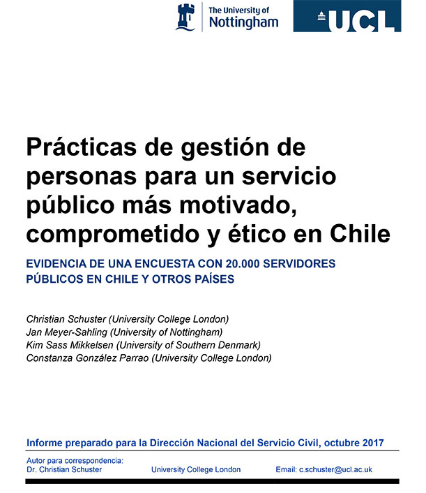 Phase 1 Chile report cover