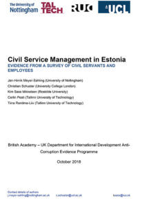 Phase 1 Estonia report cover