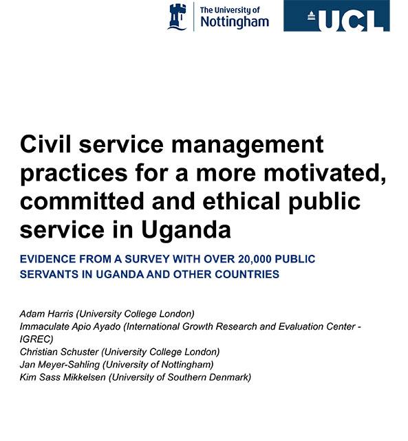 Phase 1 Uganda report cover