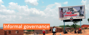 Informal Governance site banner