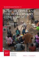 African Cities and the Development Conundrum special issue cover