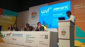 Cities of Integrity panel at World Urban Forum