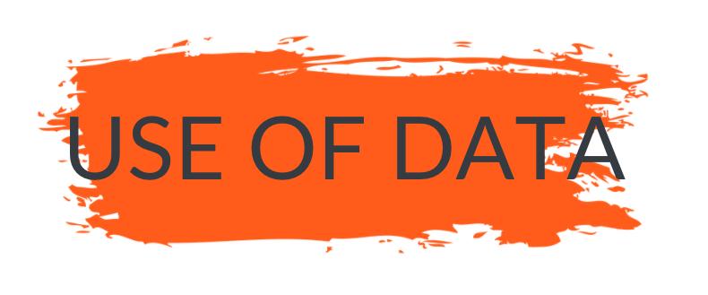user of data banner